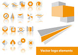 Vector logo elements