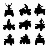 ATV silhouettes
