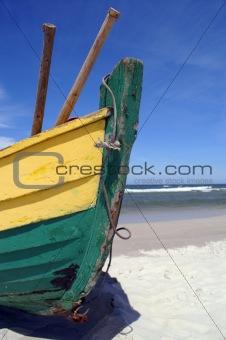fish-boat prow