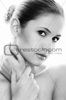 beauty portrait of a woman
