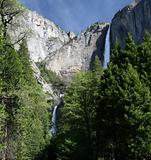 Upper and Lower Yosemite Fall