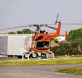 Medical evacuation helicopter