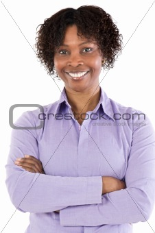 Attractive African woman