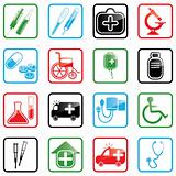 Icon set Medicine