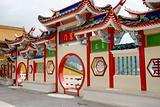 Chinese temple gateway