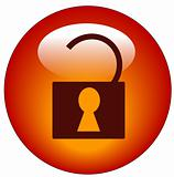 unlocked security web button