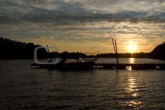 Small Lake Sunset