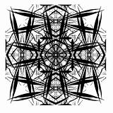 Decorative Abstract Tile Digital Design