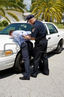 Arresting Drunk Driver