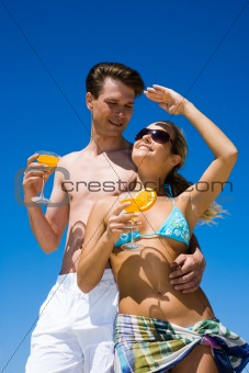 Couple during weekend
