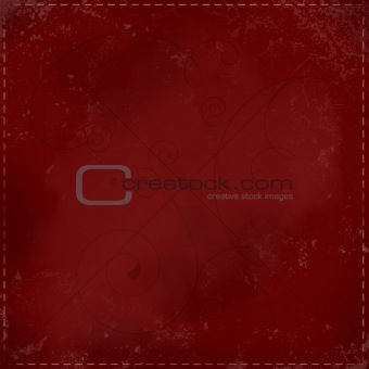 Abstract background with curles