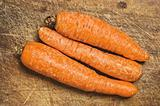 Three carrots.