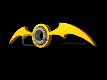 batwings gear logo