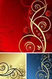 Golden backgrounds