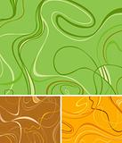 Three Swirl Backgrounds