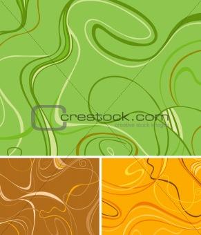 Three Swirl Backgrounds