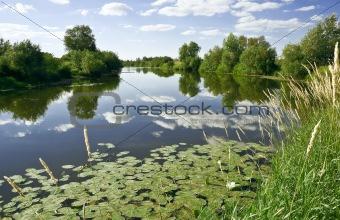 Calm place River