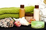 shower hygiene cosmetics for spa