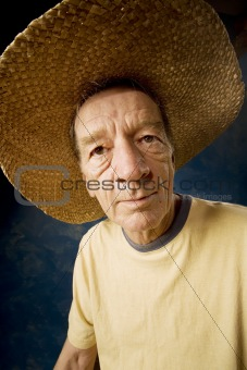 Man in a Big Straw Hat