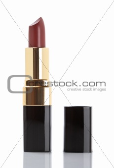 Tube of lipstick