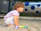 Child in the sandbox