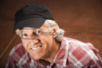 Man in a Ball Cap