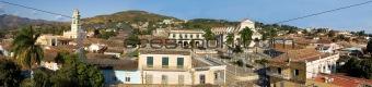 Old town Trinidad, Cuba,  Panorama (2)