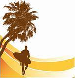 surfers beach banner