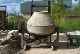 old cement-mixer