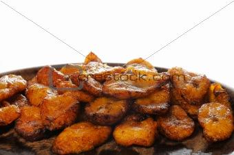 Cuban food - fried banana