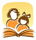 family and book