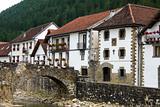 Village Otxagabia in the Pyrenees