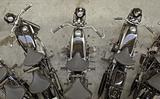 Motocycles.