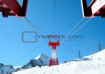 Alpine ski lft