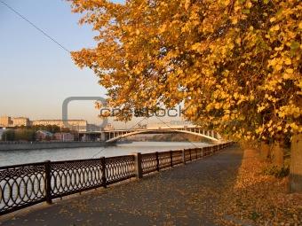Autumn quay