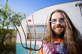 Man with a Pitchfork