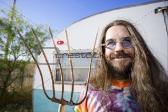 Man with a Pitchfork