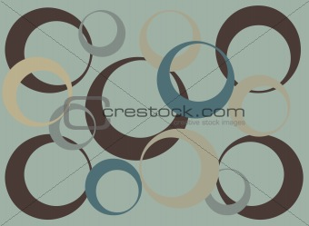 Abstract Cirle pattern background
