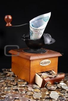 Monetary grinder