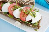 Mozarella sandwich