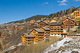 Ski resort chalet