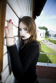 Beautiful Gothic Girl