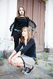 Goth And Pretty Girl