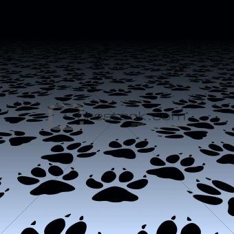 Dog prints