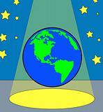 earth in the spotlight