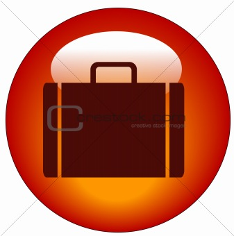 briefcase button or suitcase icon
