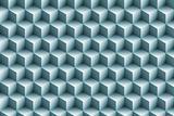 3d blue metallic cubes background